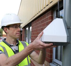 Trạm giám sát chất lượng không khí AQMESH